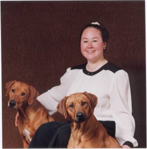 Breeder wiht Brandy and Little Dickens